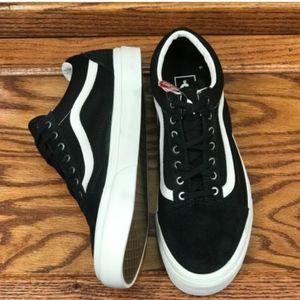 Vans Old Skool Snake Black Blanc Canvas Suede Shoe NWT